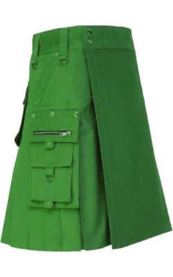 green utility kilt