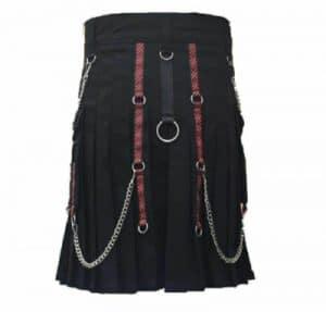 best black color kilt