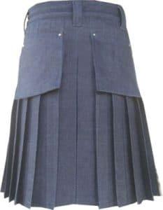 Blue Denim Dress