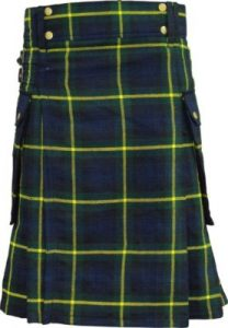 Gordon dress tartan kilt