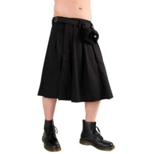 denim shorts mens kilt