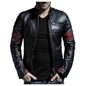 modern leather jacket for men