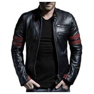 modern leather jacket for men