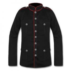military army pea coat mens