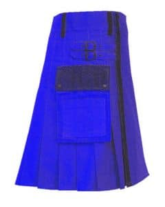 the blue man kilt