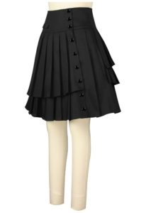 ladies dress black kilt