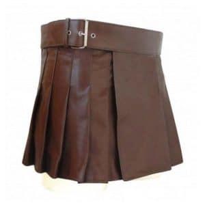 leather gladiator skirt