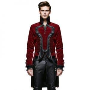 red velvet jacket mens