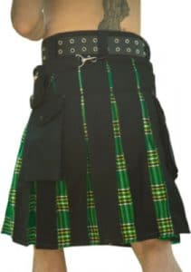 Black And Green kilt