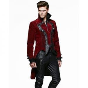 red velvet jacket mens sale