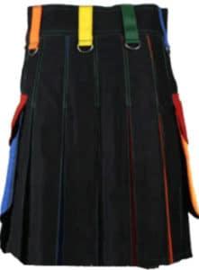 multi color dress kilt