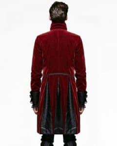 new red velvet jacket mens