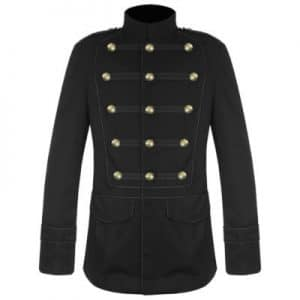 Men Black Military jacket