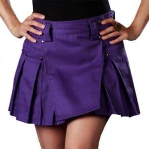 Ladies Purple dress
