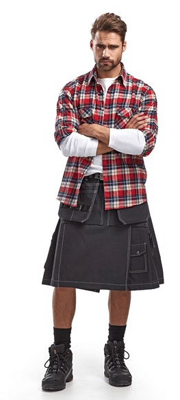 workman blacklader kilt
