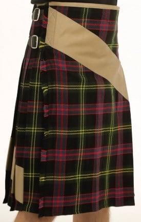 Tartan Khaki Kilt