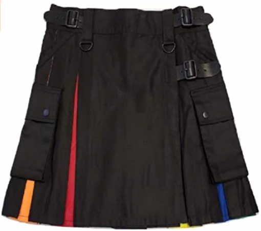 Hybrid Rainbow Skirt