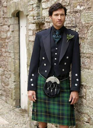 Irish Kilt Outfit