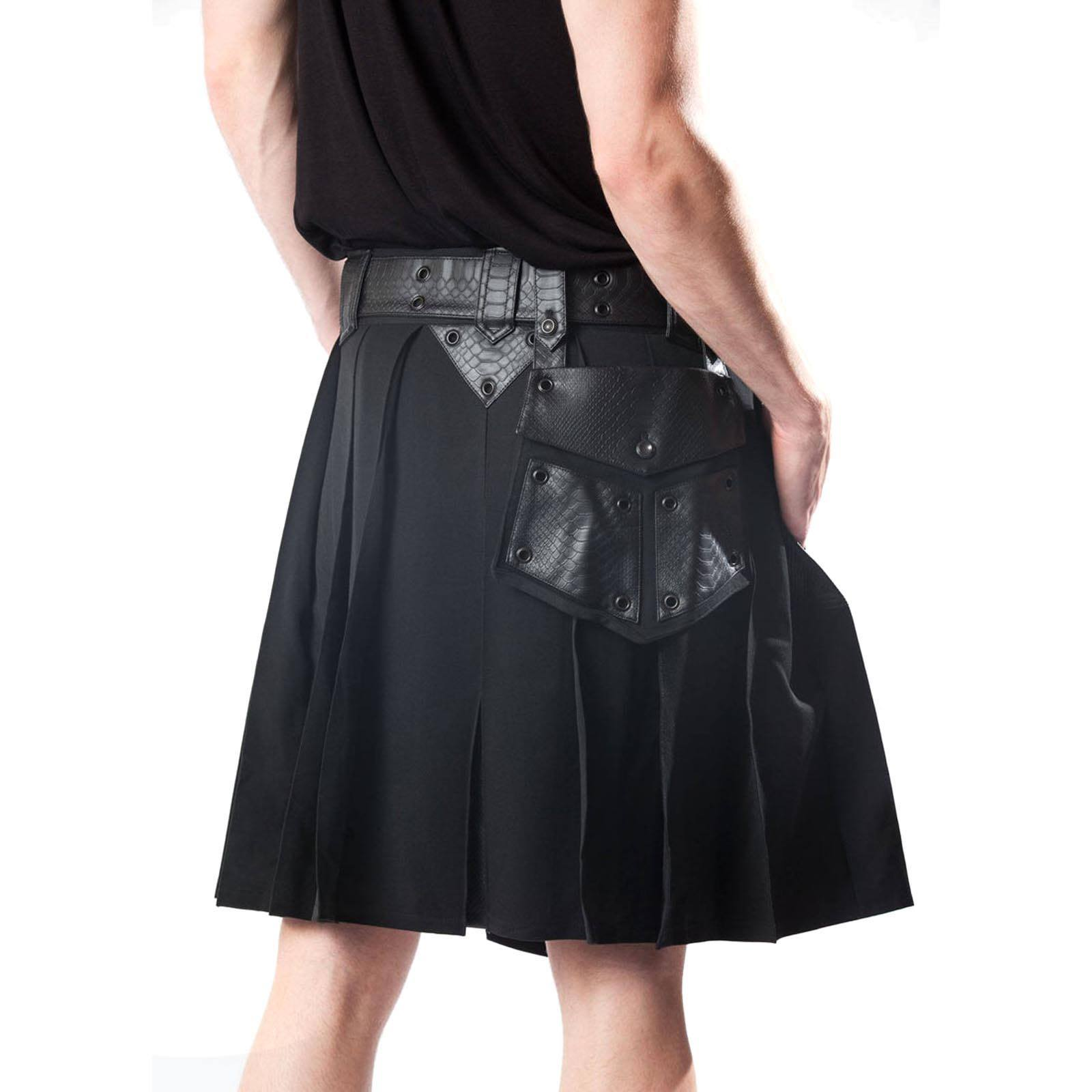 Leather Gothic Kilt