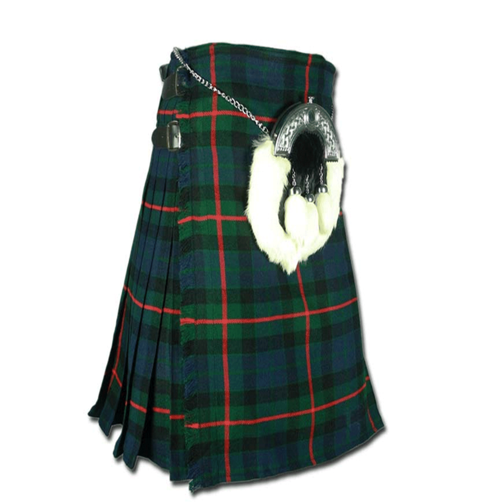 Leatherneck US Marine Corps Corporate Tartan Kilt