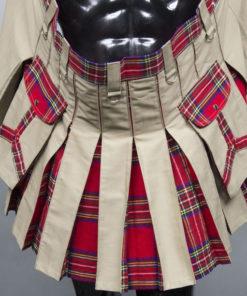 Hybrid Khaki Kilt