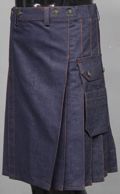 denim jeans kilt