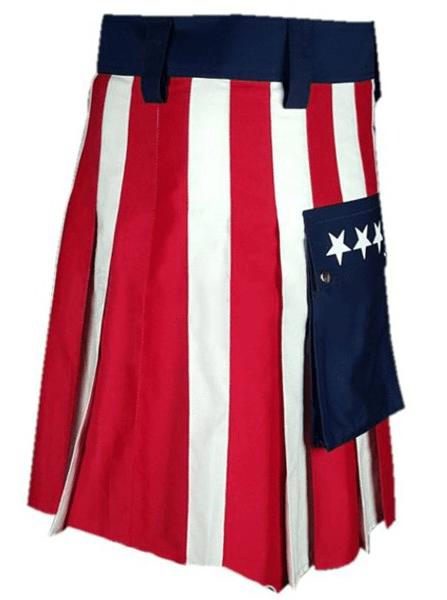 New American Flag Kilt