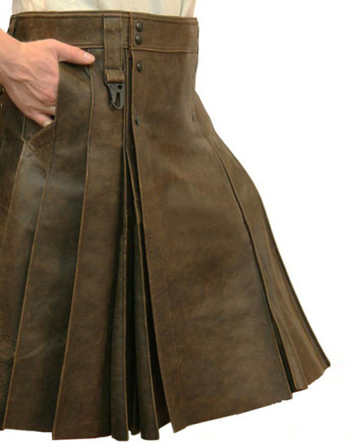 Best Leather Kilts For Big Guys