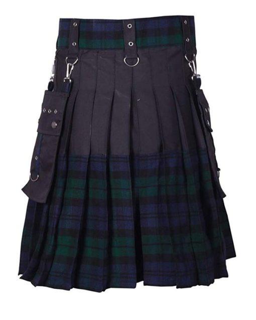 Black Watch Fashionable Tartan Kilt