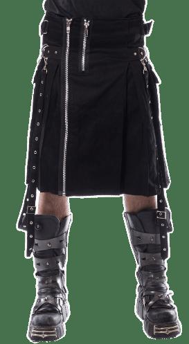 Chemical Black Gothic Kilt