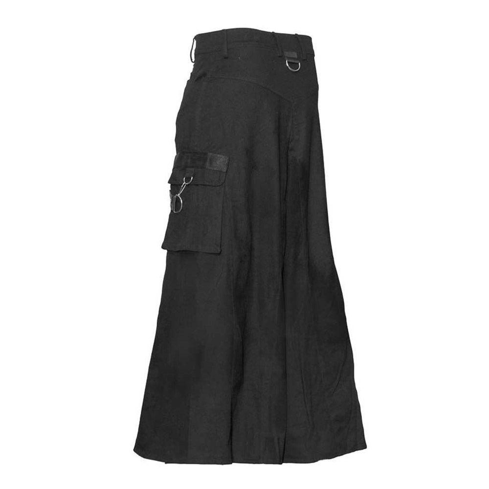 Cyber Gothic Bondage Skirt