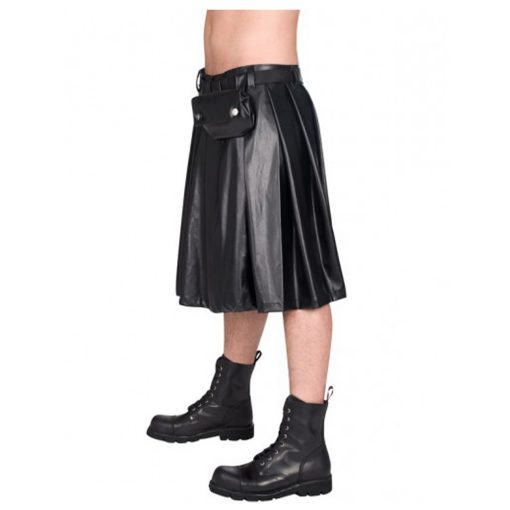 Leather Pistol Kilt