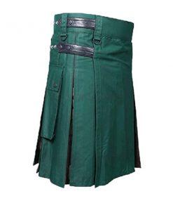 Hybrid Green Camo Kilt
