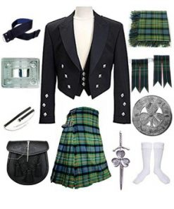 Black Prince Charlie Kilt Outfit