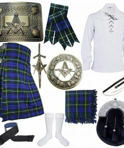 Campbell Of Argyll Tartan Outfit